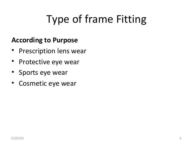 Type of picture frame Structure Type Slideshare Different Types And Design Of Spectacle Frames