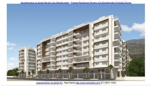 Apartamentos na planta Recreio dos Bandeirantes - Frames Residence Recreio dos Bandeirantes Fachada DiurnaApartamentos na ...