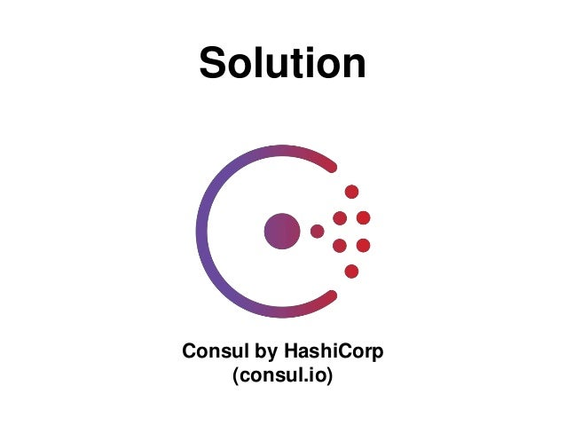Dockerize me distributed php applications with symfony for Hashicorp consul