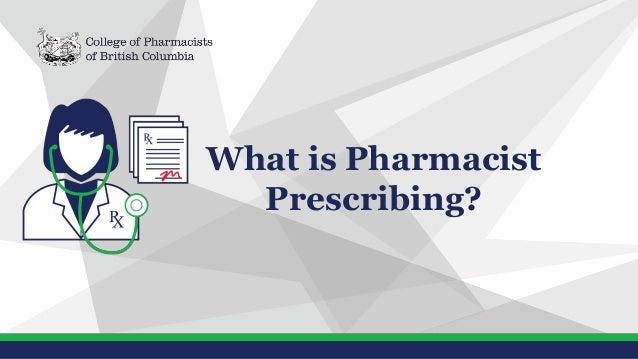 What is Pharmacist Prescribing?