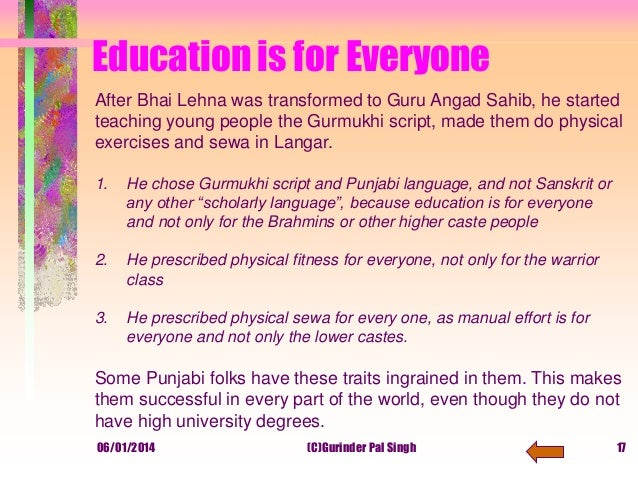 Sanskrit Of The Vedas Vs Modern Sanskrit: Framework For Education_based_on_gurbani