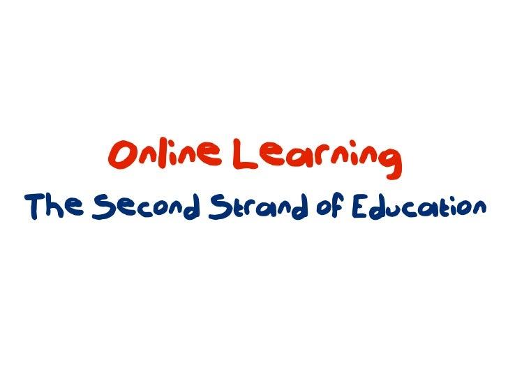 Framework for Online Learning Slide 2