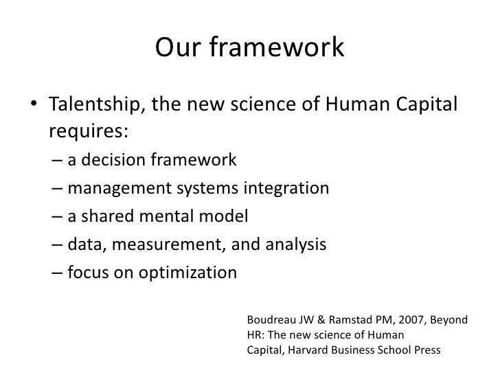 talentship and hr measures essay - 797 words Human capital diagnostics: measuring the intangibles compelling proof that companies perform better when they make a concerted effort to measure talentship and other diagnostics help hr think analytically about talent and budget resources hr programs and processes will earn credibility.