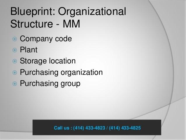 Framework of sap mm blueprint by pennonsoft blueprint organizational structure mm company malvernweather Images