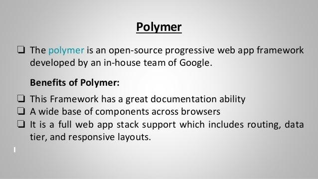 Frameworks and Tools For Developing Progressive Web App