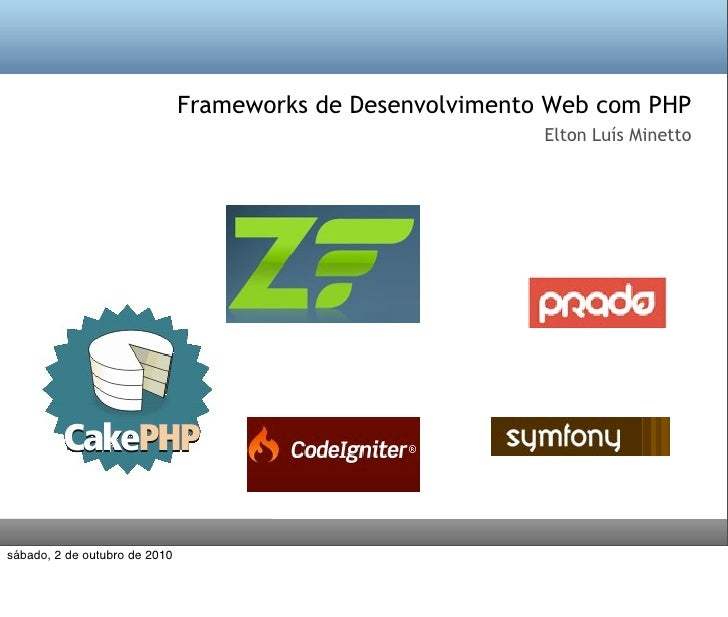 Frameworks de Desenvolvimento Web com PHP