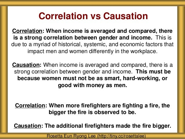 Causation Vs Correlation Examples Images Example Cover Letter For