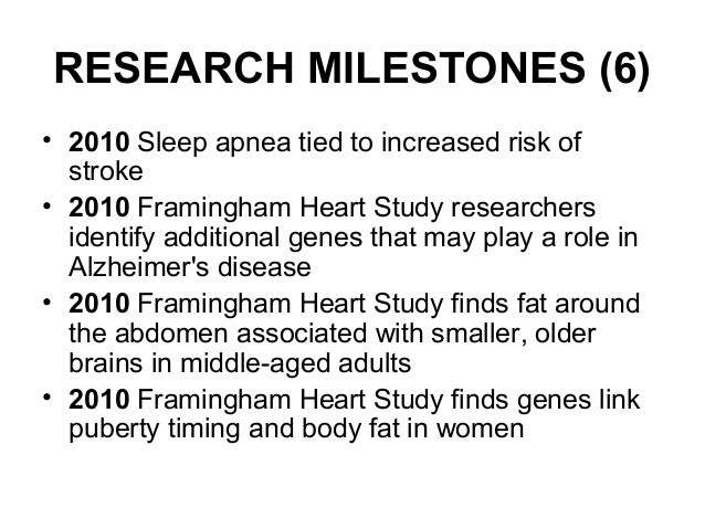 All About Framingham Heart Study