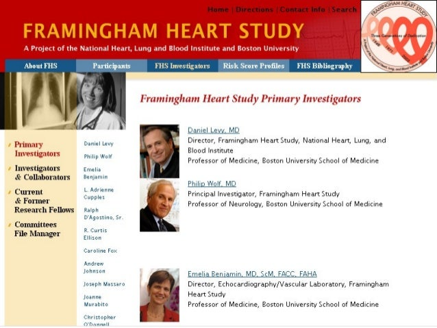 Framingham Heart Study - Wikipedia