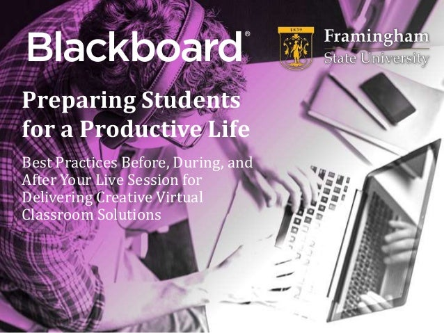 ® Preparing Students for a Productive Life Best Practices Before, During, and After Your Live Session for Delivering Creat...