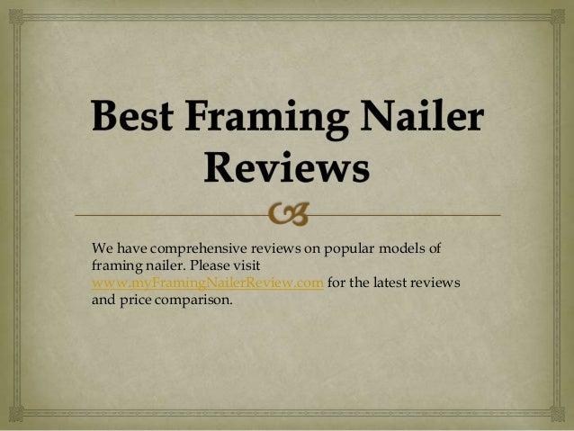 Best Framing Nailer Reviews