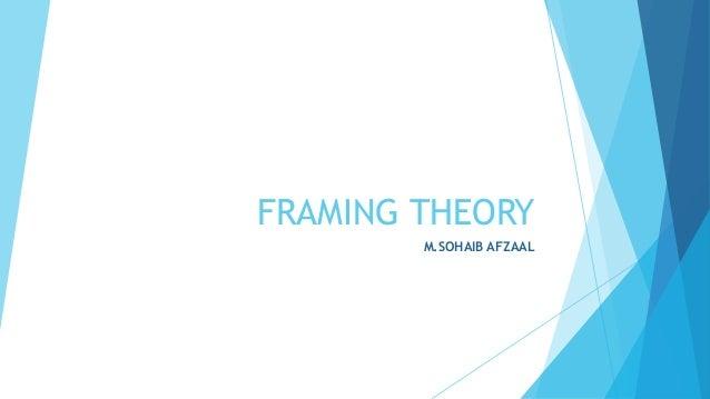 FRAMING THEORY M.SOHAIB AFZAAL