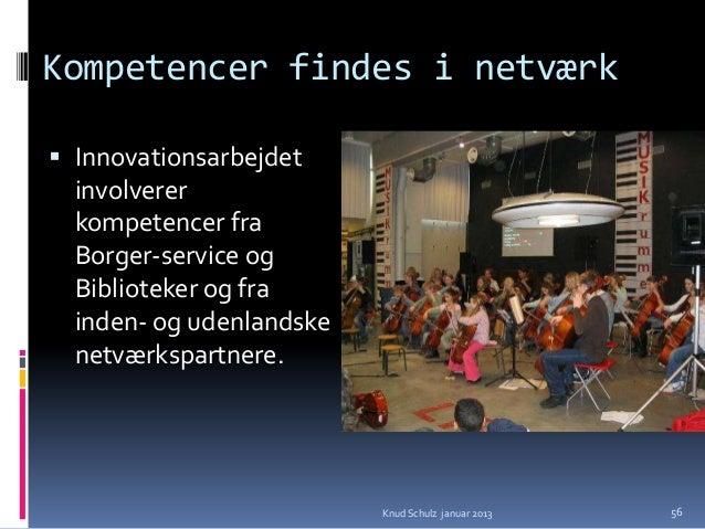 Ændret produktionsapparatNetværk - partnerskab Biblioteker er ikke alene enkeltstående  organisationer – men producerer s...