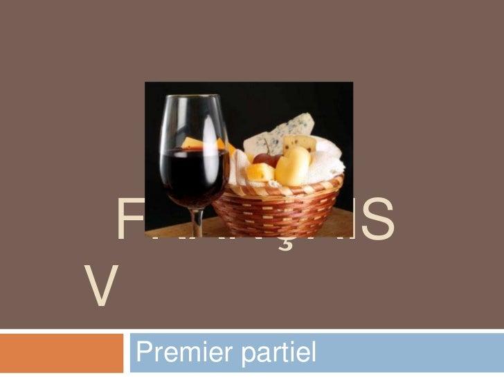 FRANÇAISV Premier partiel