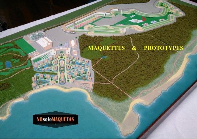 MAQUETTES & PROTOTYPES