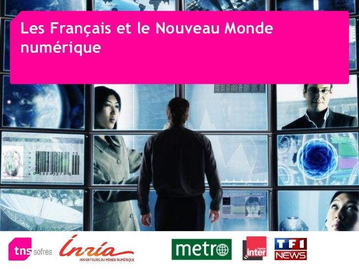 Les Français et le Nouveau Mondenumérique