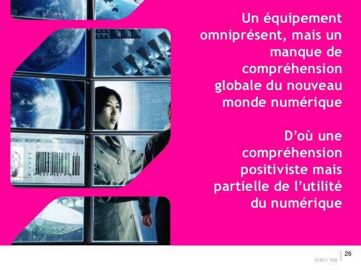 Un équipementomniprésent, mais un          manque de      compréhension  globale du nouveau   monde numérique            D...