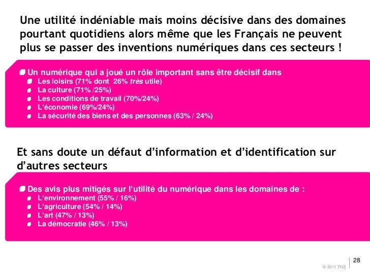 Une utilité indéniable mais moins décisive dans des domainespourtant quotidiens alors même que les Français ne peuventplus...