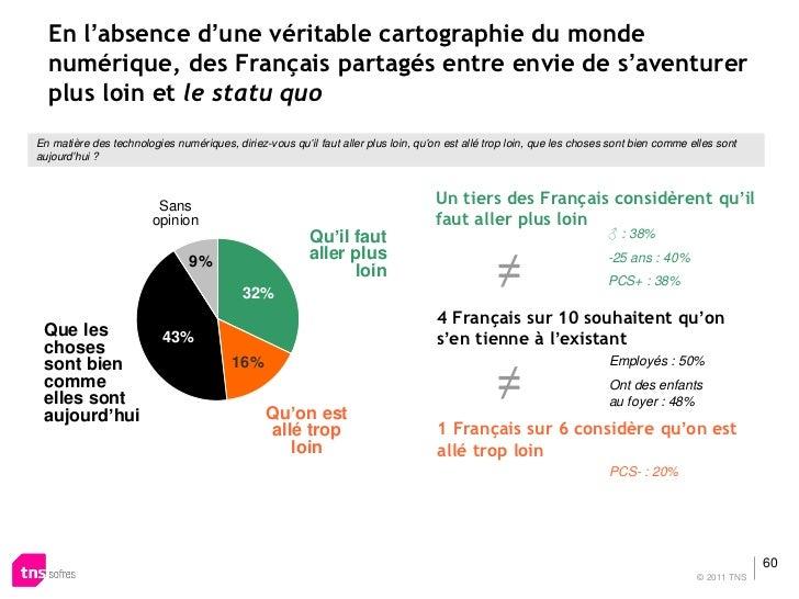 En l'absence d'une véritable cartographie du monde  numérique, des Français partagés entre envie de s'aventurer  plus loin...