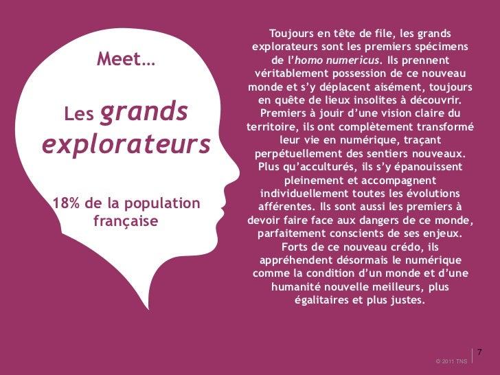 Toujours en tête de file, les grands                        explorateurs sont les premiers spécimens      Meet…           ...