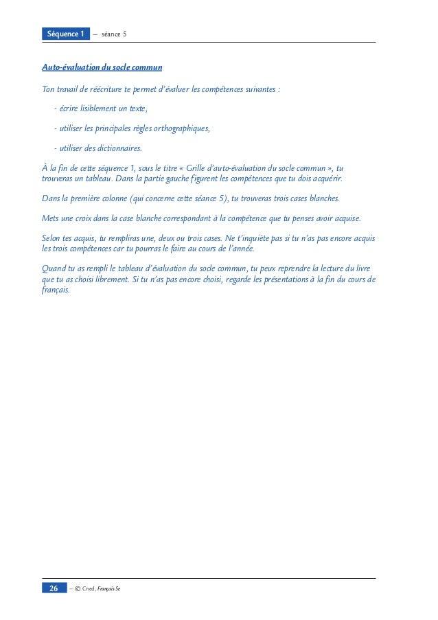 Francais5e source pdf ll - Grille d evaluation d un employe ...