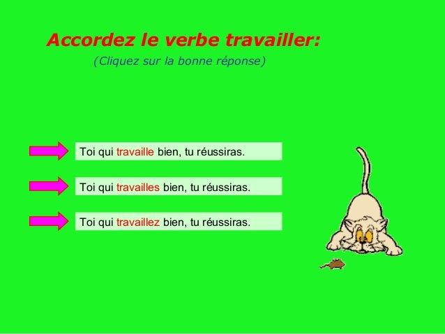 Francais for Portent verbe