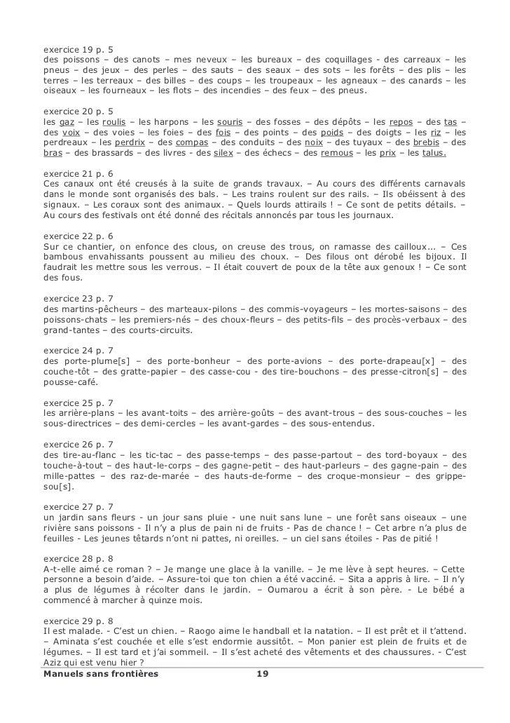 Francais orthographe