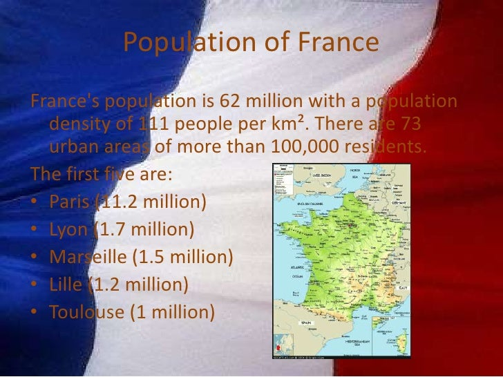 Geography & Population of France