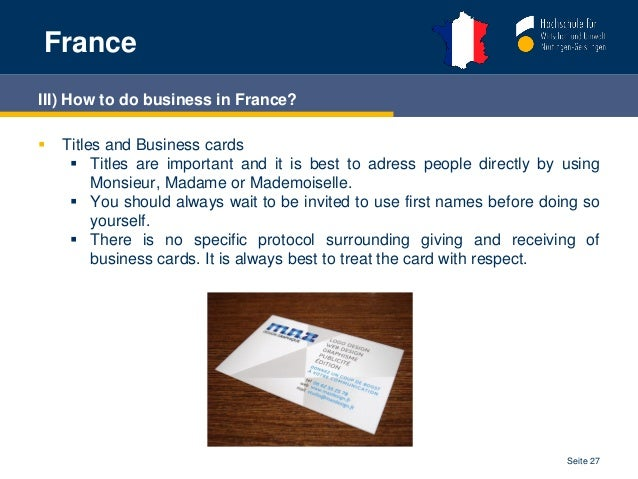 France intercultural management william belle seite 26 27 franceiii how to do business in france colourmoves