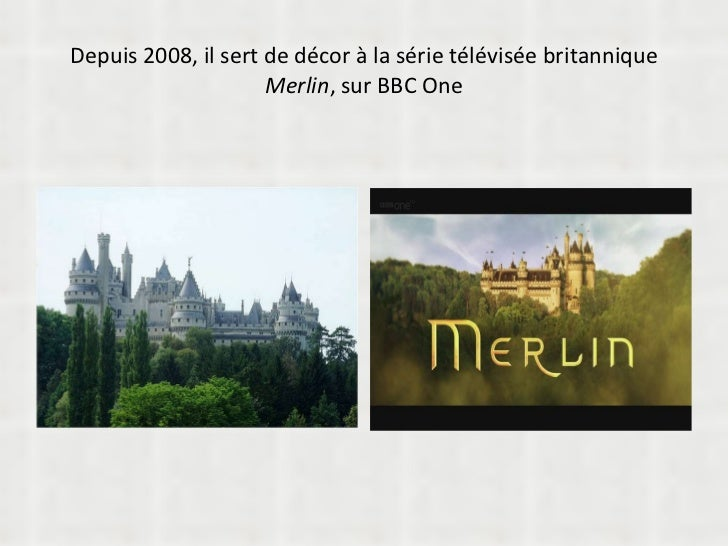 Depuis 2008, il sert de décor à la série télévisée britannique  Merlin , sur BBC One