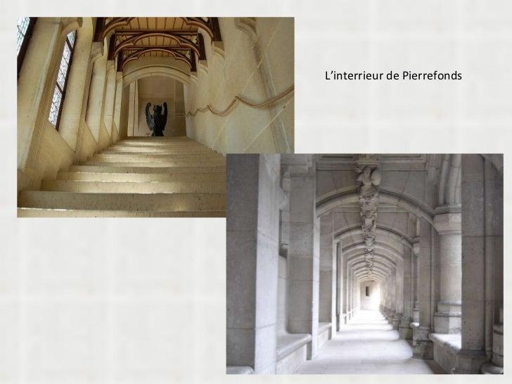 L'interrieur de Pierrefonds