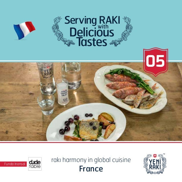 Funda Inansal rakı harmony in global cuisine France 05