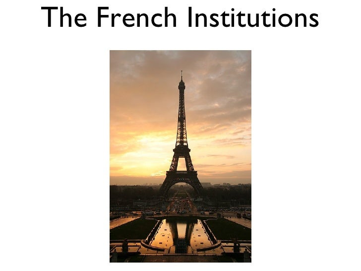 The French Institutions