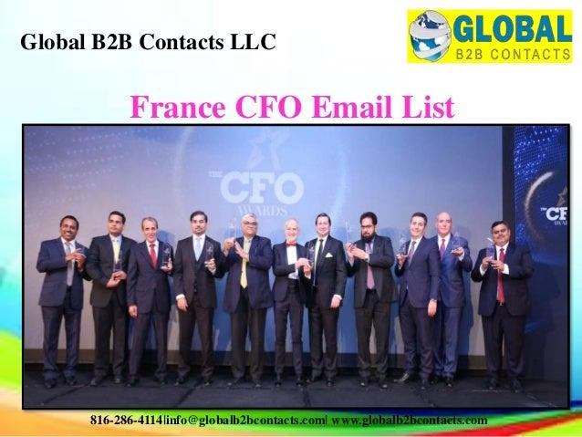 France cfo email list