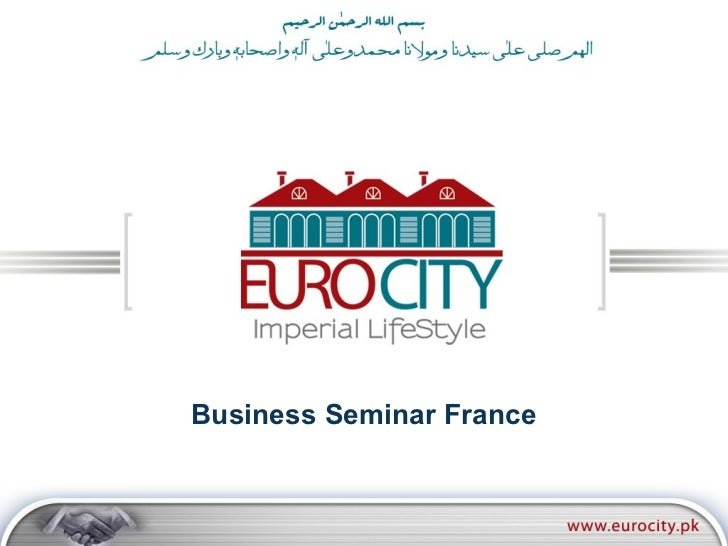 Business Seminar France