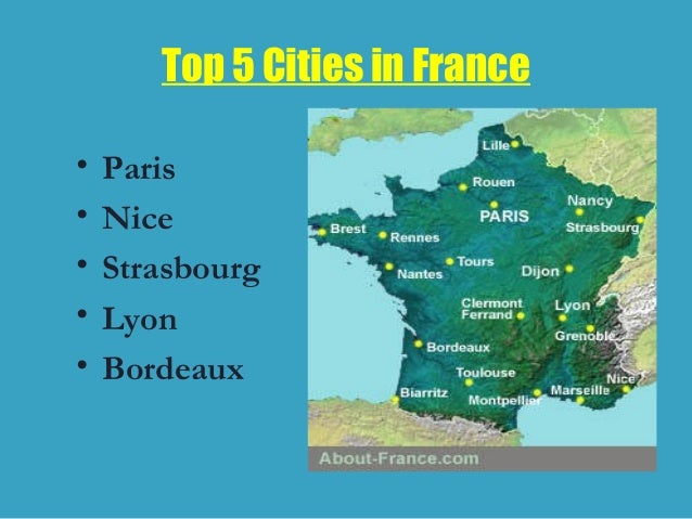 An overview of the country of france