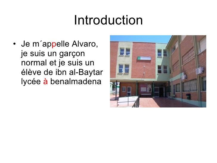 Description personnelle (Álvaro) Slide 2