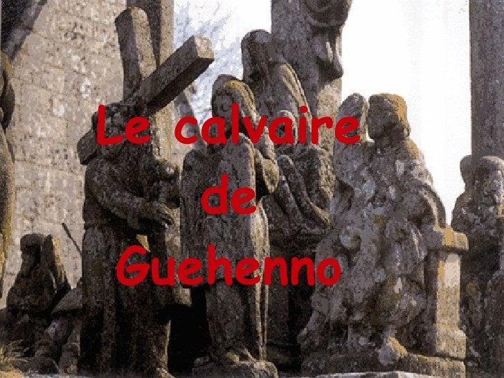 Le calvaire de Guehenno