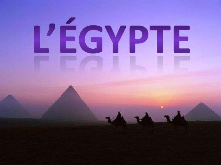 L'égypte<br />