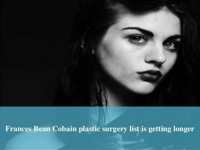 Frances bean cobain plastic surger