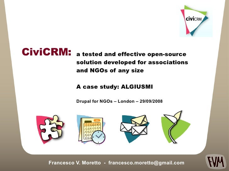 a tested and effective open-source  solution developed for associations  and NGOs of any size A case study: ALGIUSMI  Fran...