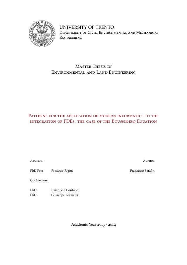 Thesis on transportation management