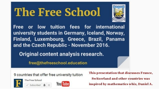 free education in denmark for international students