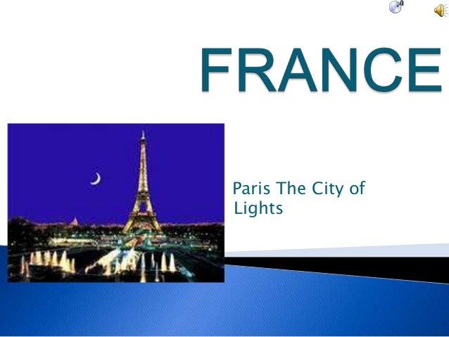 Paris The City ofLights   Lights