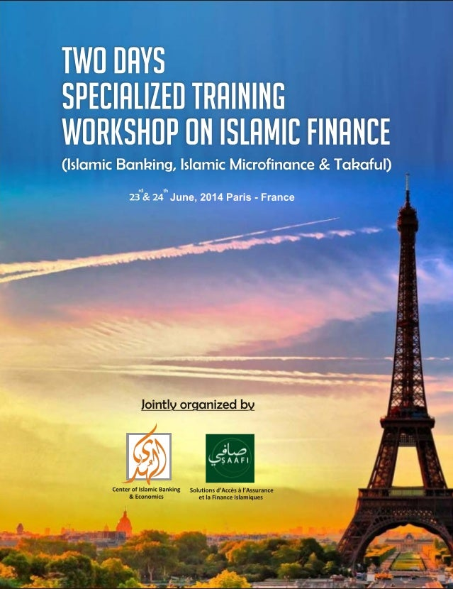 2 Days Specialized Training Workshop on Islamic Finance in France