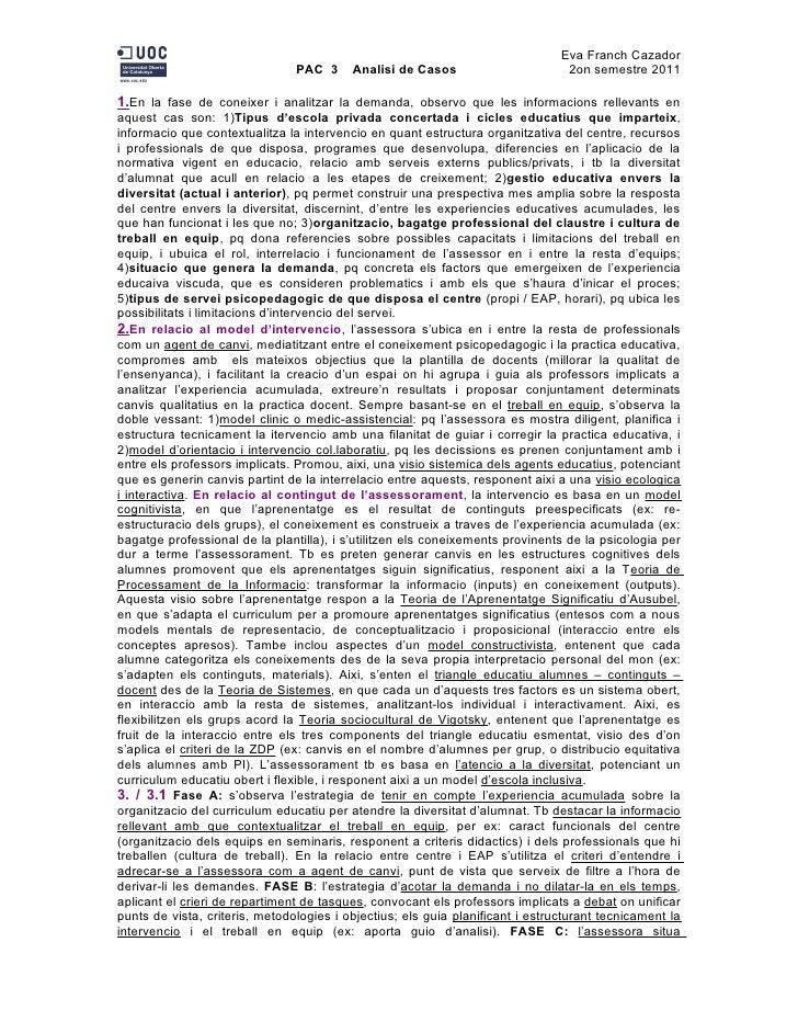 Analisi de casos PAC 3 UOC