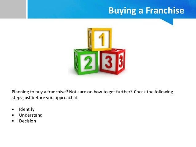 Franchising model business plans
