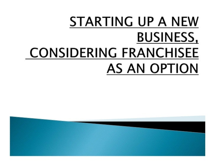 """THE WORD """"FRANCHISE"""" COMES FROM AN OLD DIALECT OFFRENCH AND MEANS PRIVILEGE OR FREEDOM.IT IS ONE OF THE FASTEST GROWING AR..."""