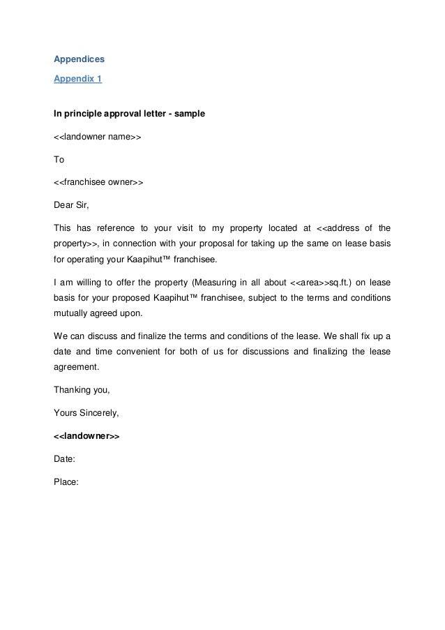 Kaapihut Franchisee Document