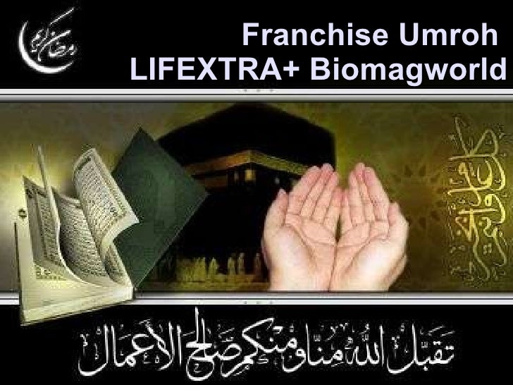 Franchise Umroh  LIFEXTRA+ Biomagworld